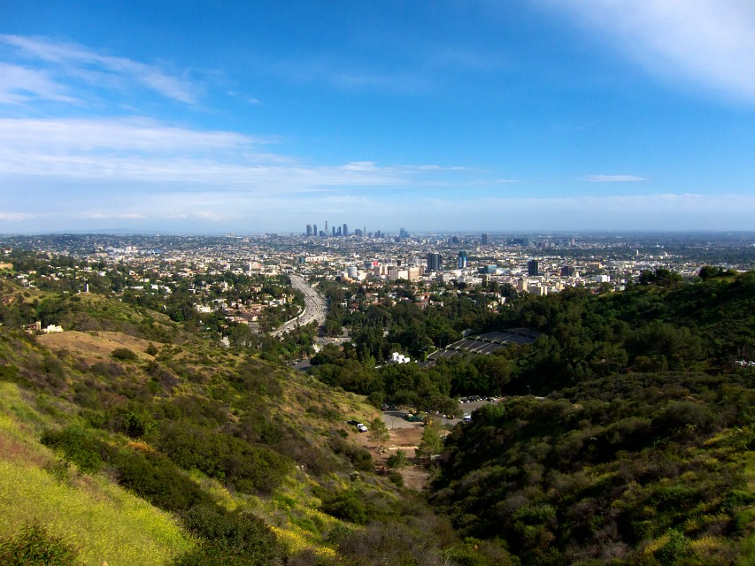 Hollywood Bowl Overlook Mulholland Scenic Corridor - Los Angeles