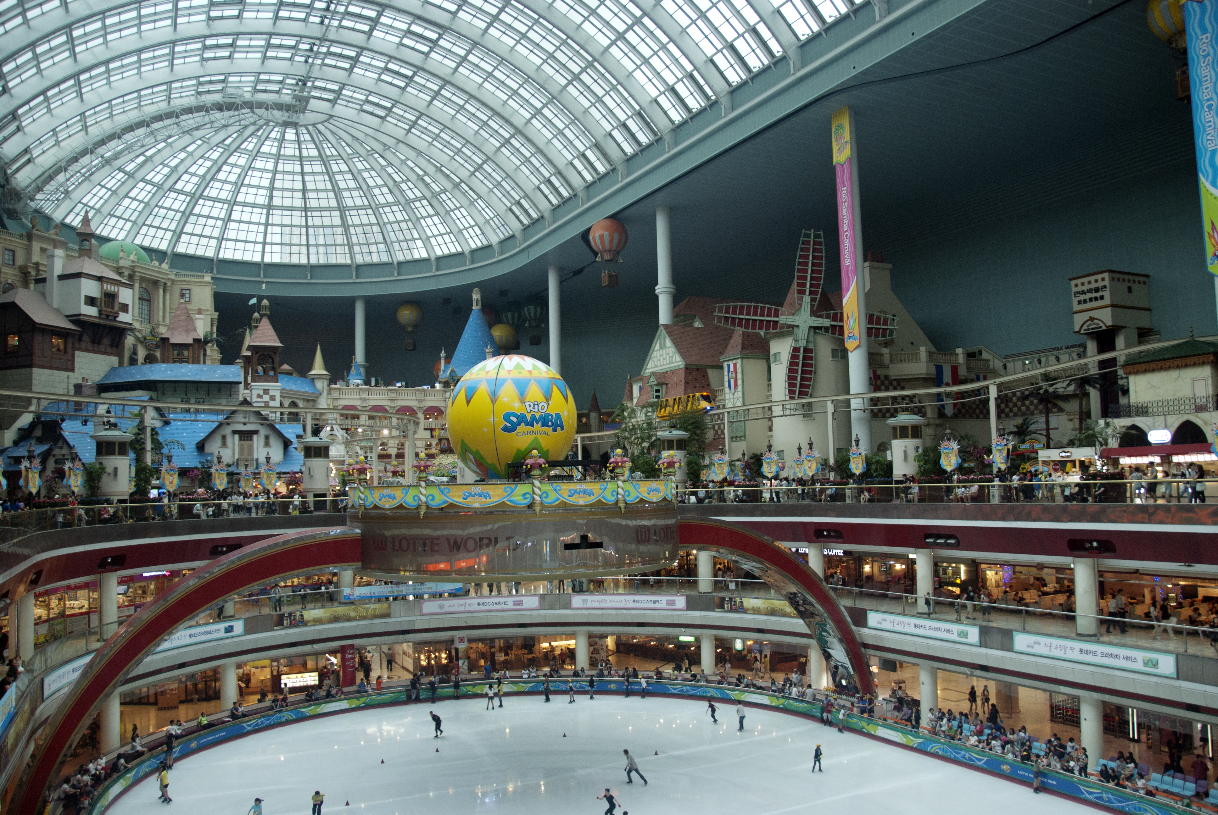 Lotte World Theme Park In Seoul Thousand Wonders
