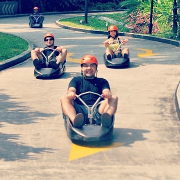 Luge Track - Resorts World