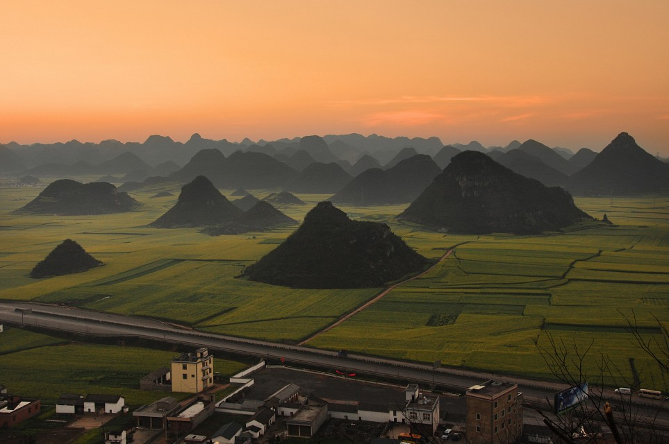 Sunrise in Luoping - Luoping