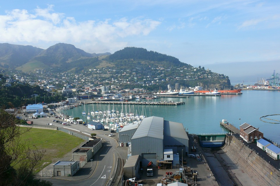 Lyttelton, Christchurch, New Zealand - Lyttelton
