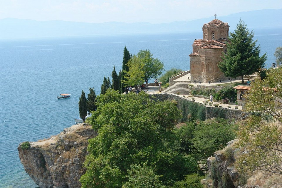 Ohrid, Macedonia - Saint Jovan church - Macedonia