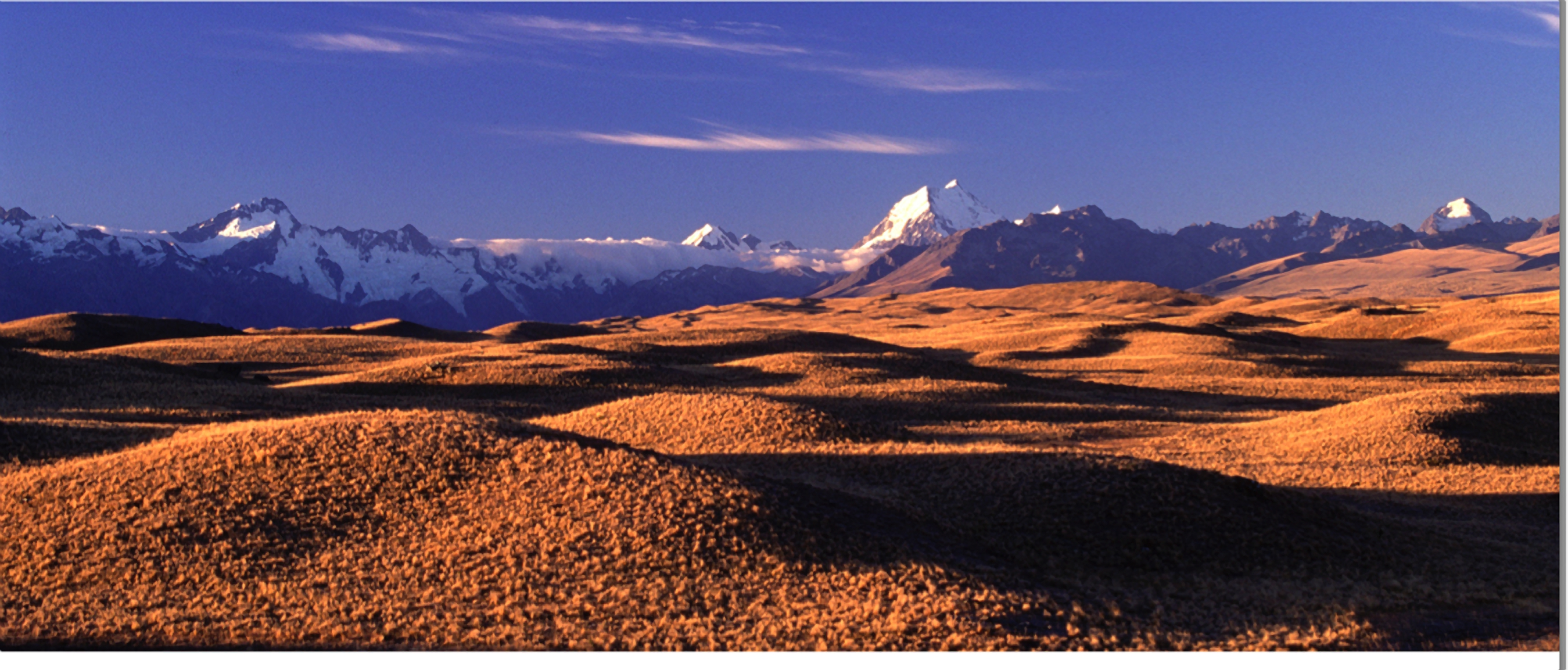 Mackenzie country geological feature in new zealand for Landscaping christchurch