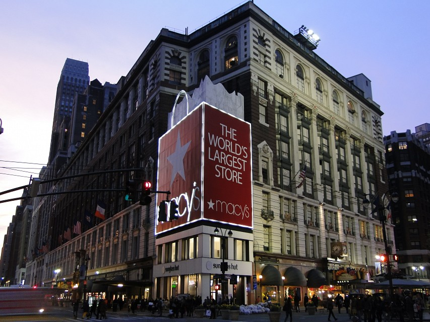 R. H. Macy and Company Store. - Macy's Herald Square