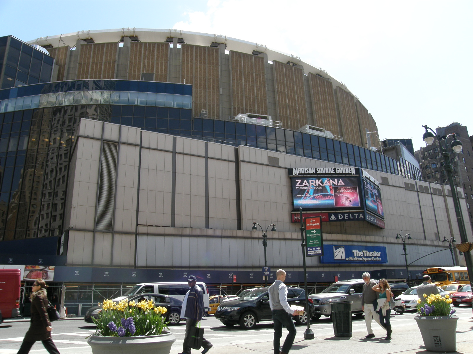 Madison Square Garden: Stadium In New York City