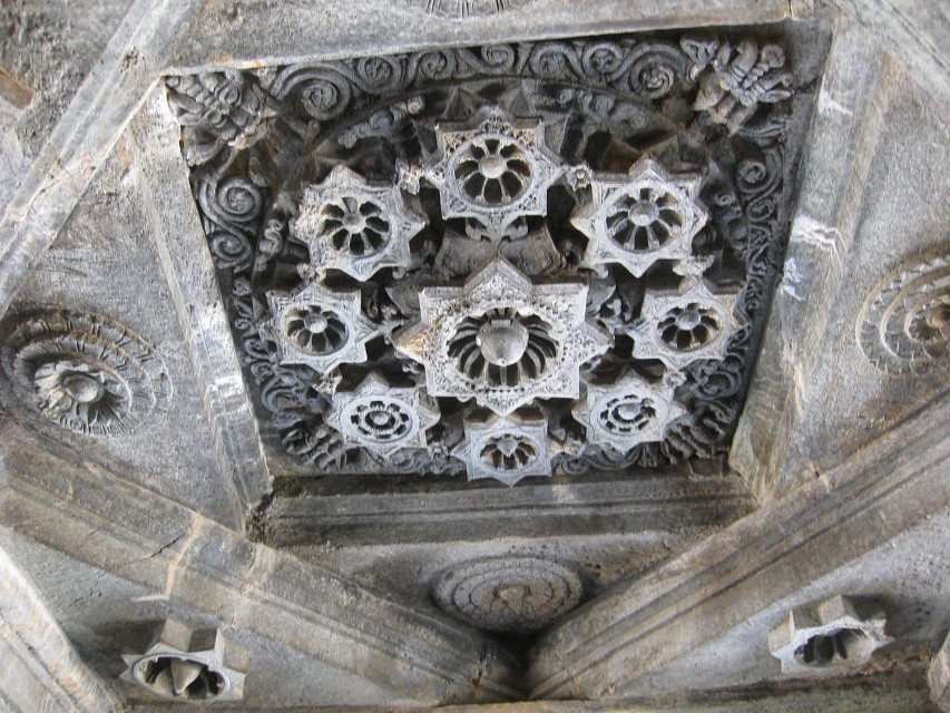 The Ceiling of Mahadev Temple - Mahadev Temple