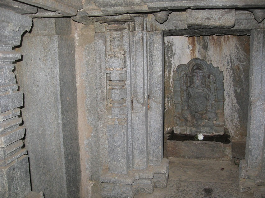 Carvings Inside Mahadev Temple  - Mahadev Temple
