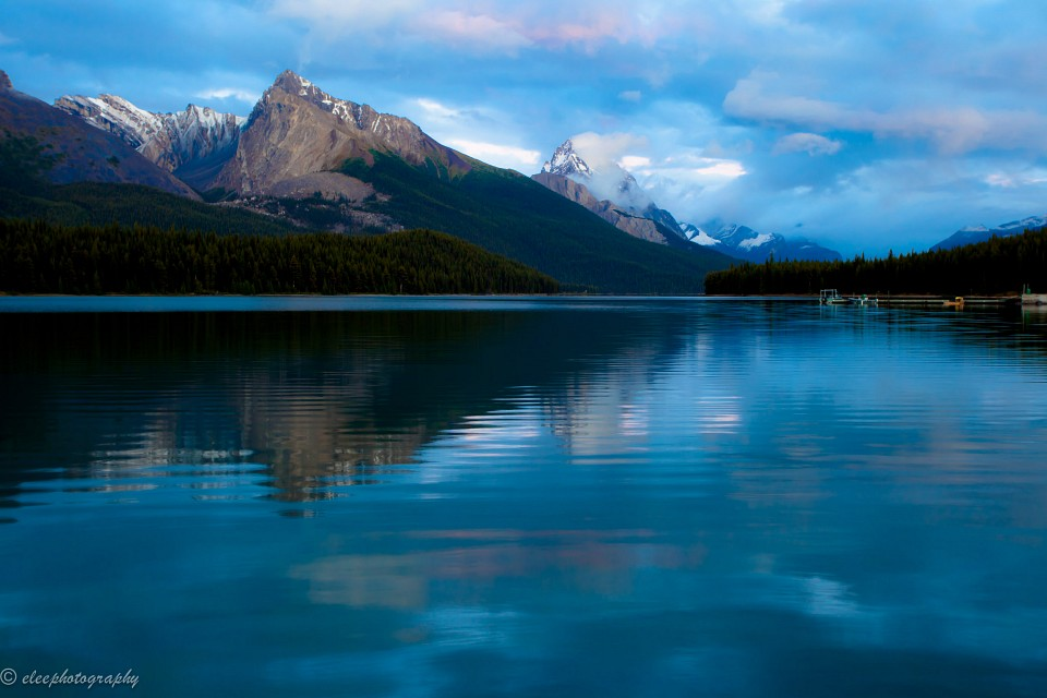 Maligne Lake, Jasper National Park, Alberta, Canada - Maligne Lake