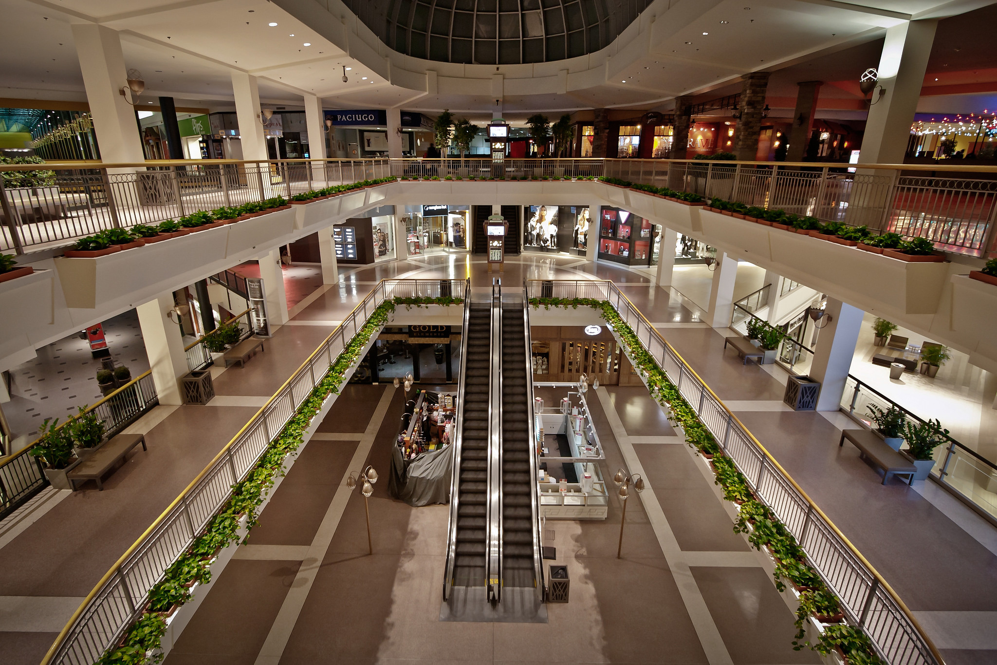 Pictures of the mall
