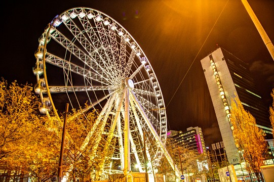 Wheel of Manchester HDR - Manchester
