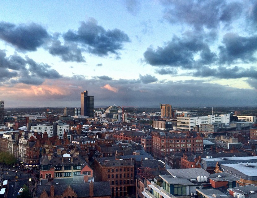 Manchester Northern Quarter - a view from a 15th floor - Manchester
