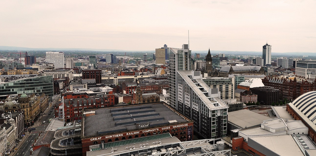 Views from Cloud 23 - Manchester