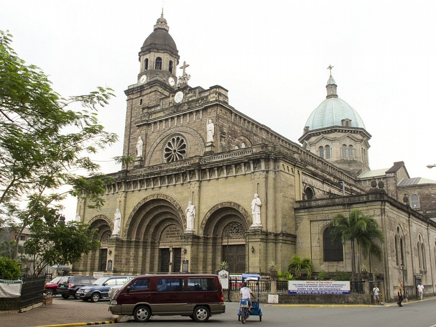 Manila Cathedral 3581 sm - Manila Cathedral