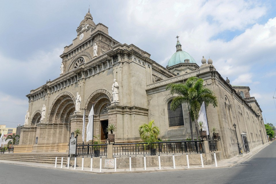 The Manila Cathedral - Manila Cathedral