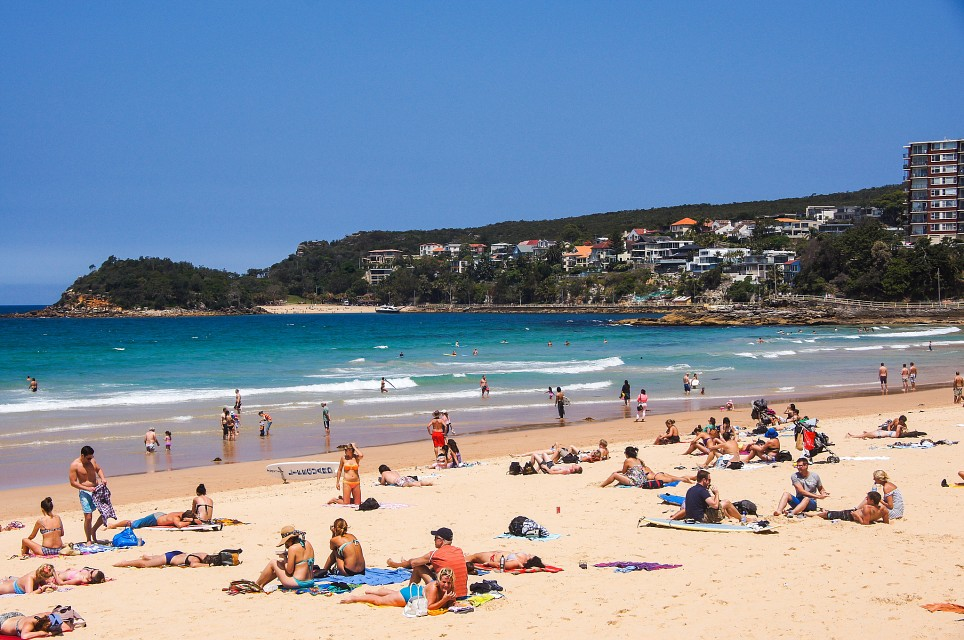 Beach at Manly - Manly Beach
