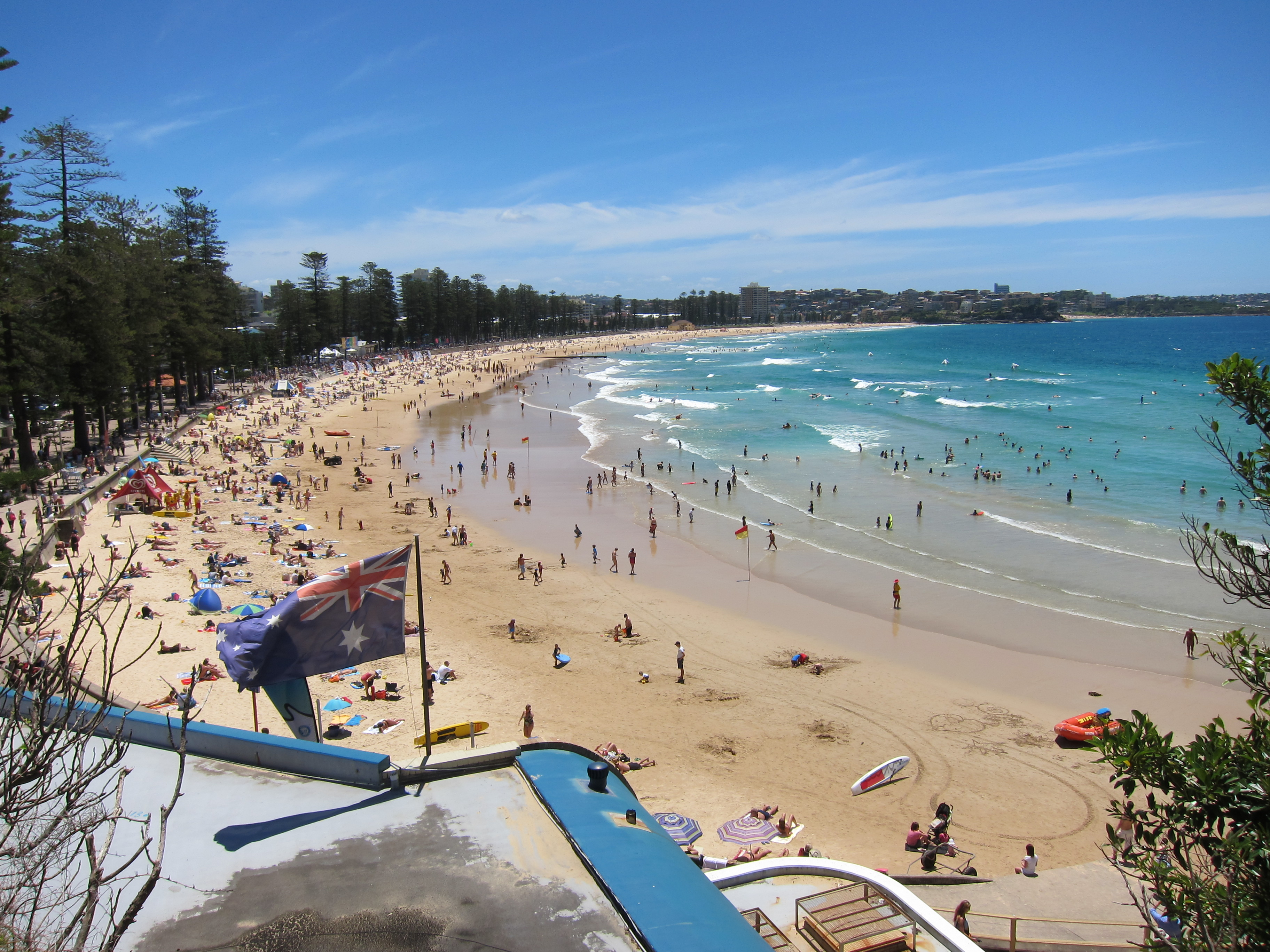 how to get to manley beach