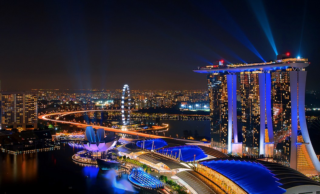 Marina Bay Sands at night - Marina Bay Sands