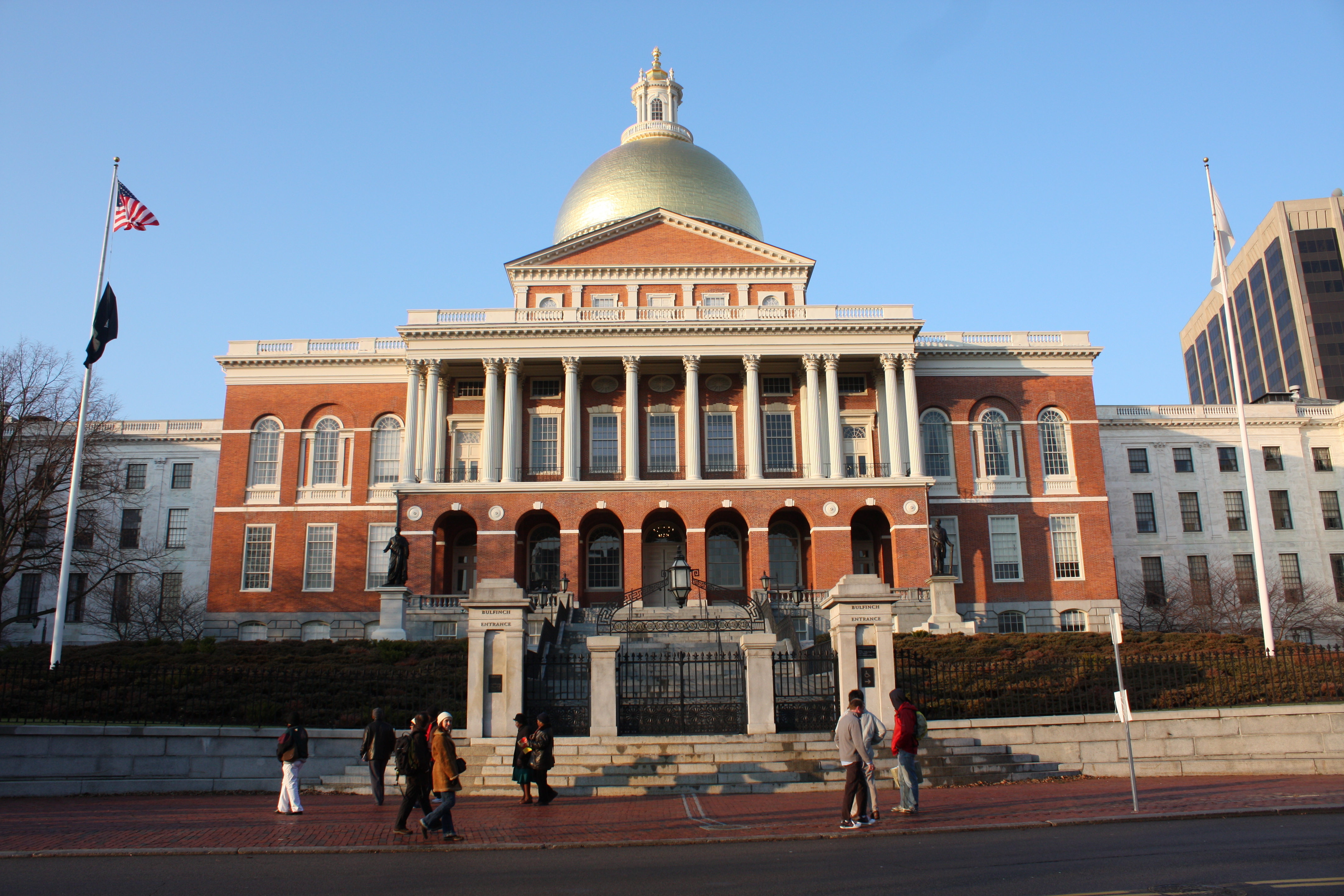 Massachusetts state house legislative building in boston for Building a house in ma