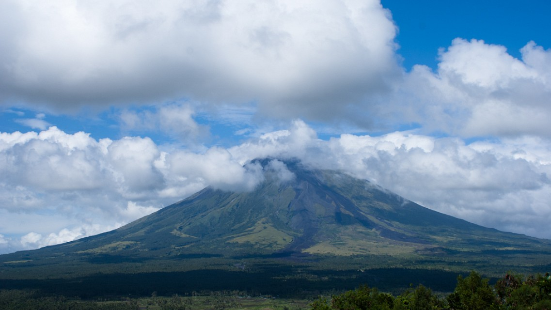 Beautiful volcano - Mayon Volcano