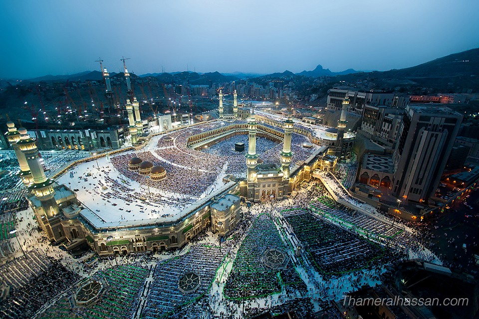 The Holy Grand Mosque in Makkah - Heart of Islam - Mecca