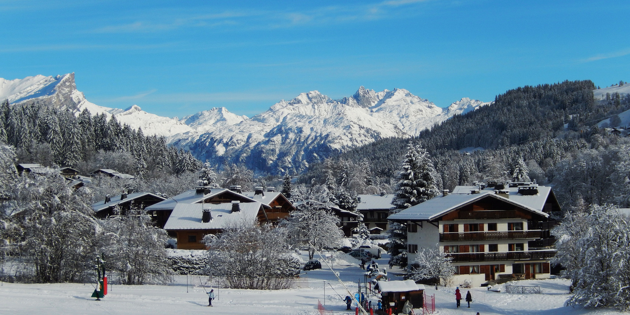 Meg ve town in france thousand wonders - Office du tourisme megeve haute savoie ...