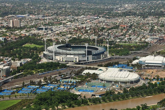MCG for KVS - Melbourne Cricket