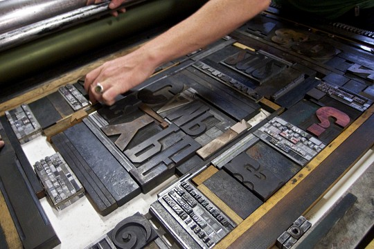 Type Camp at Melbourne Museum of Printing - Melbourne Museum