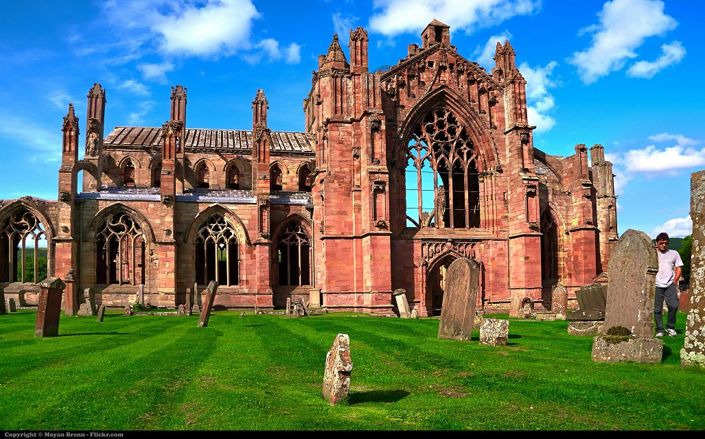 Scotland - Melrose Abbey