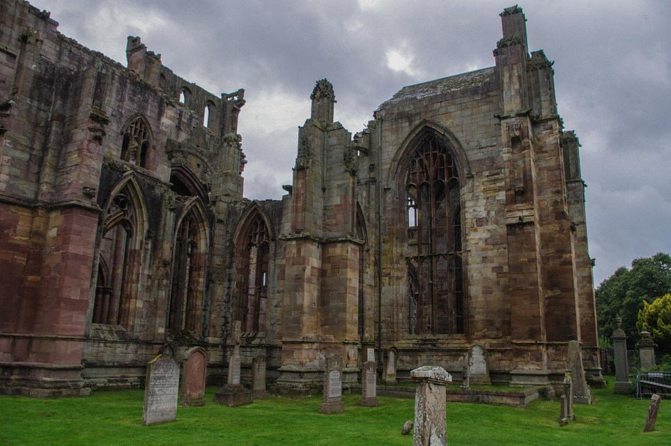 Melrose Abbey - Melrose Abbey