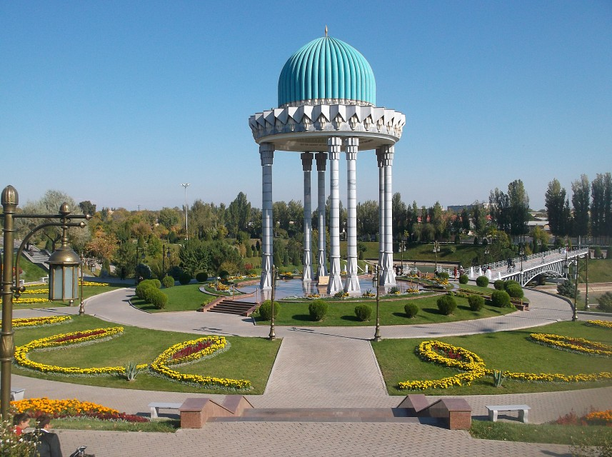 Tashkent Memorial Park - Memorial to the Victims of Repression