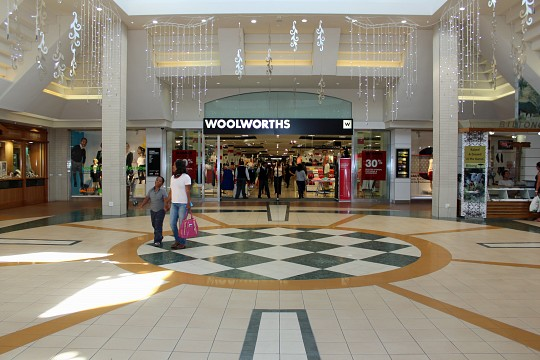 One of the anchor stores