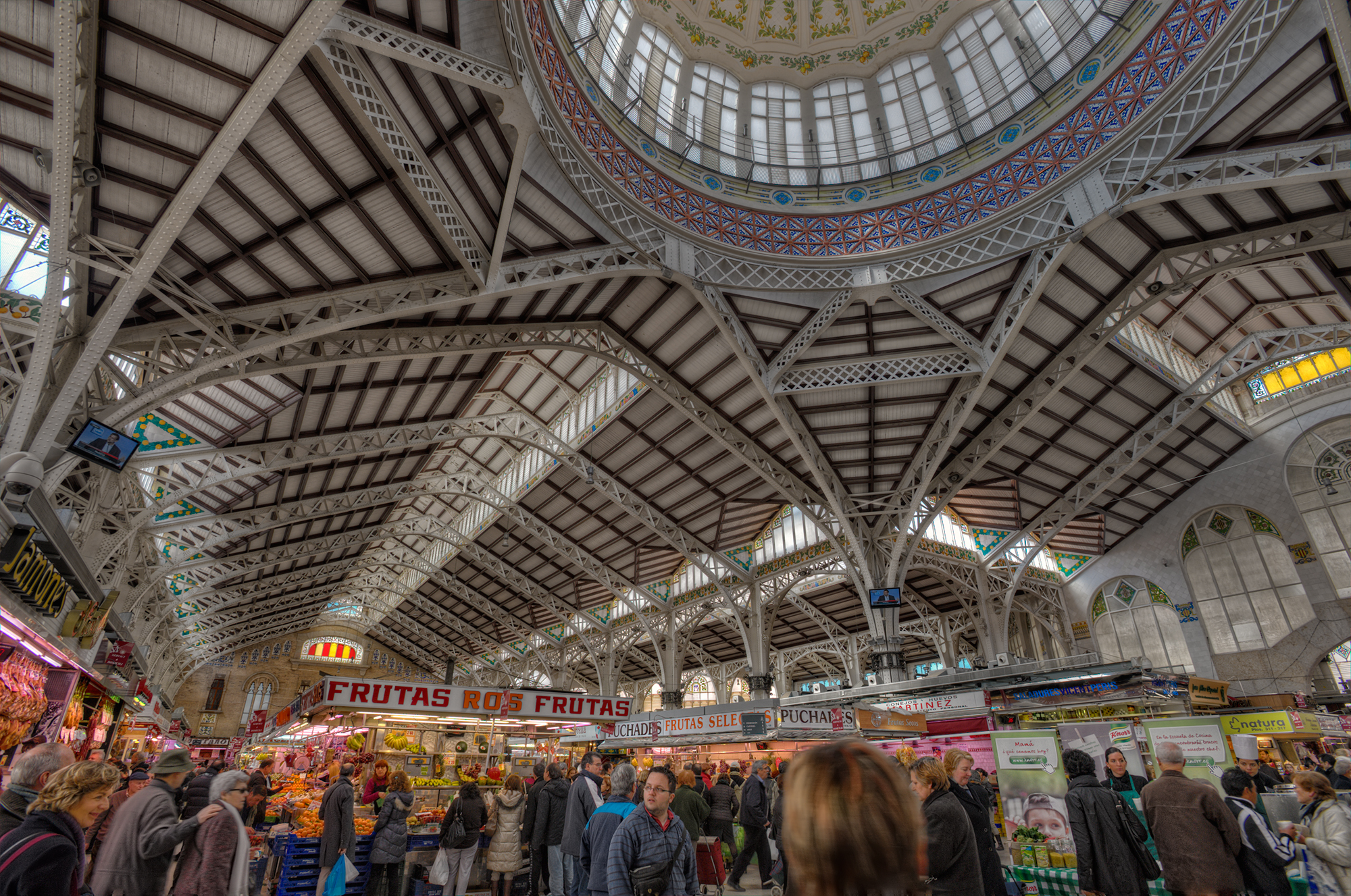 Mercado Central - Public Building in Valencia - Thousand Wonders