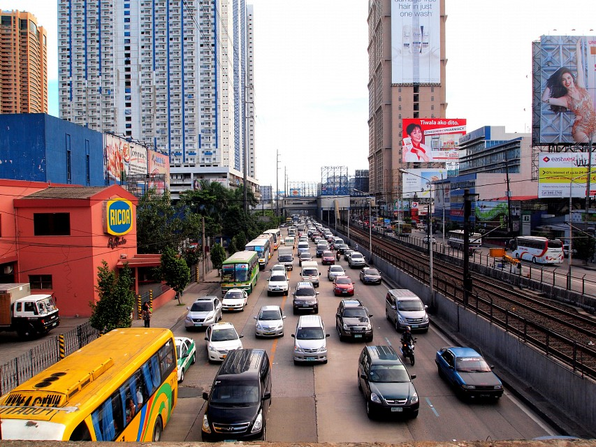 EDSA - the most congested thoroughfare in Metro