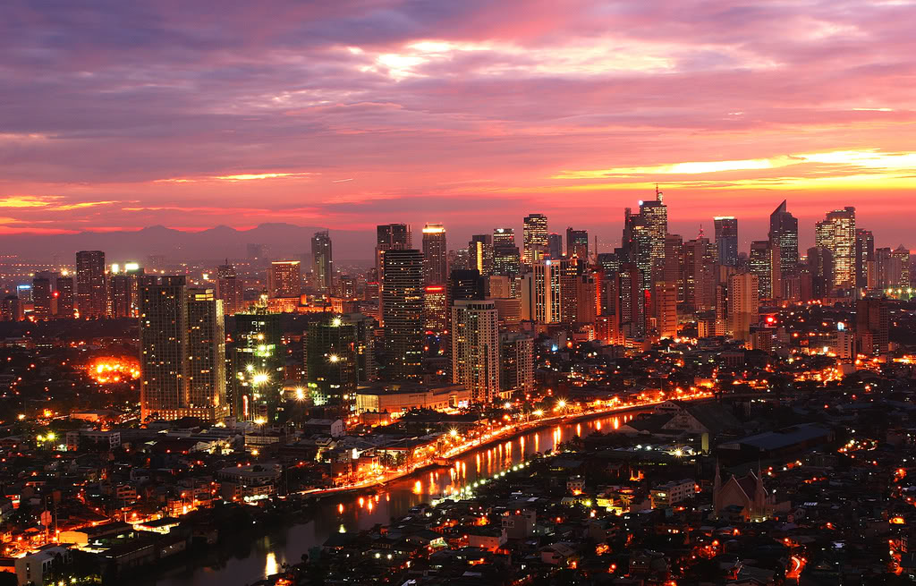 Metro manila city in philippines thousand wonders makati and pasig river from mandaluyong metro manila sciox Image collections