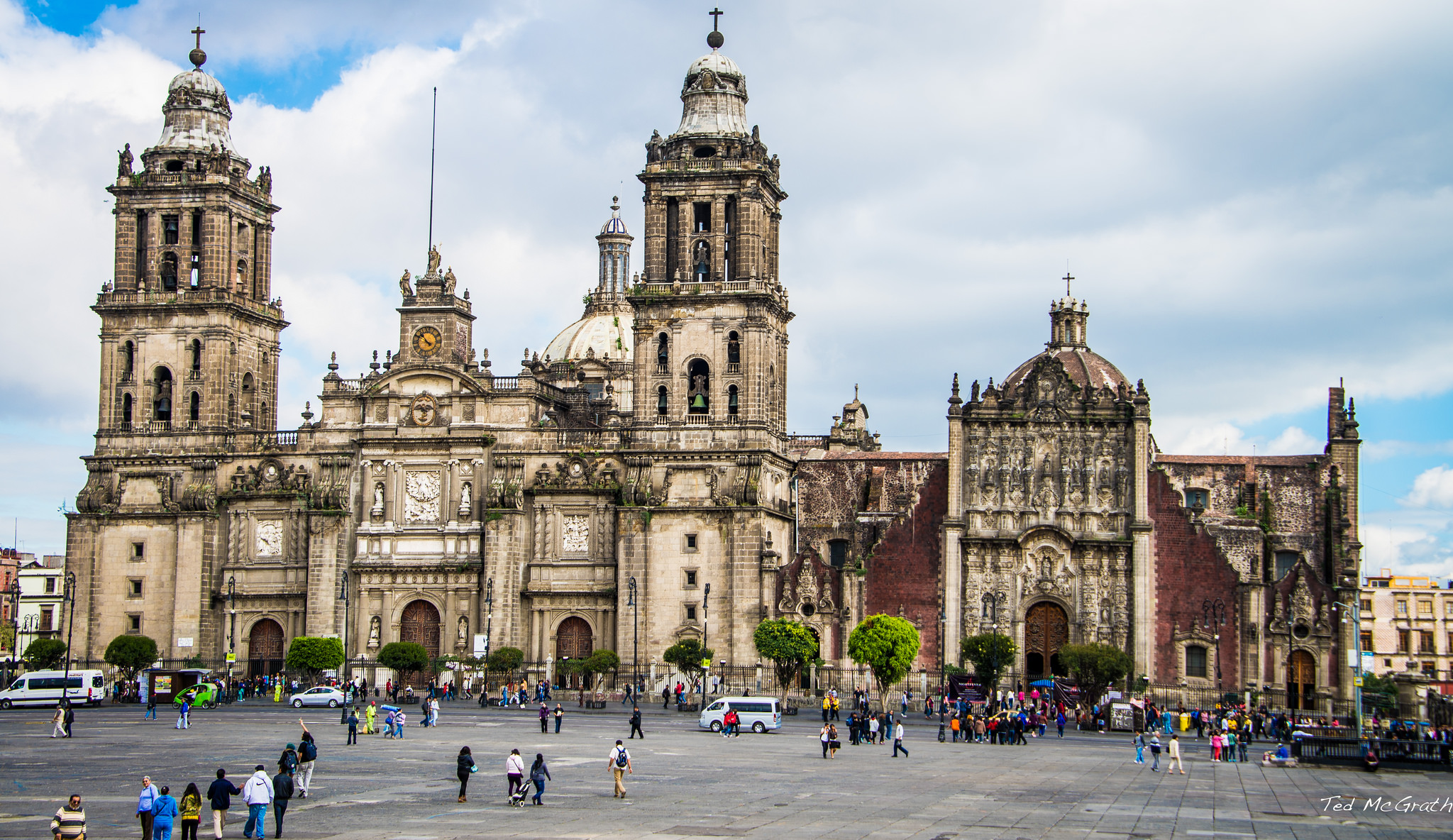 Mexico City Metropolitan Cathedral Church In Mexico City Thousand Wonders