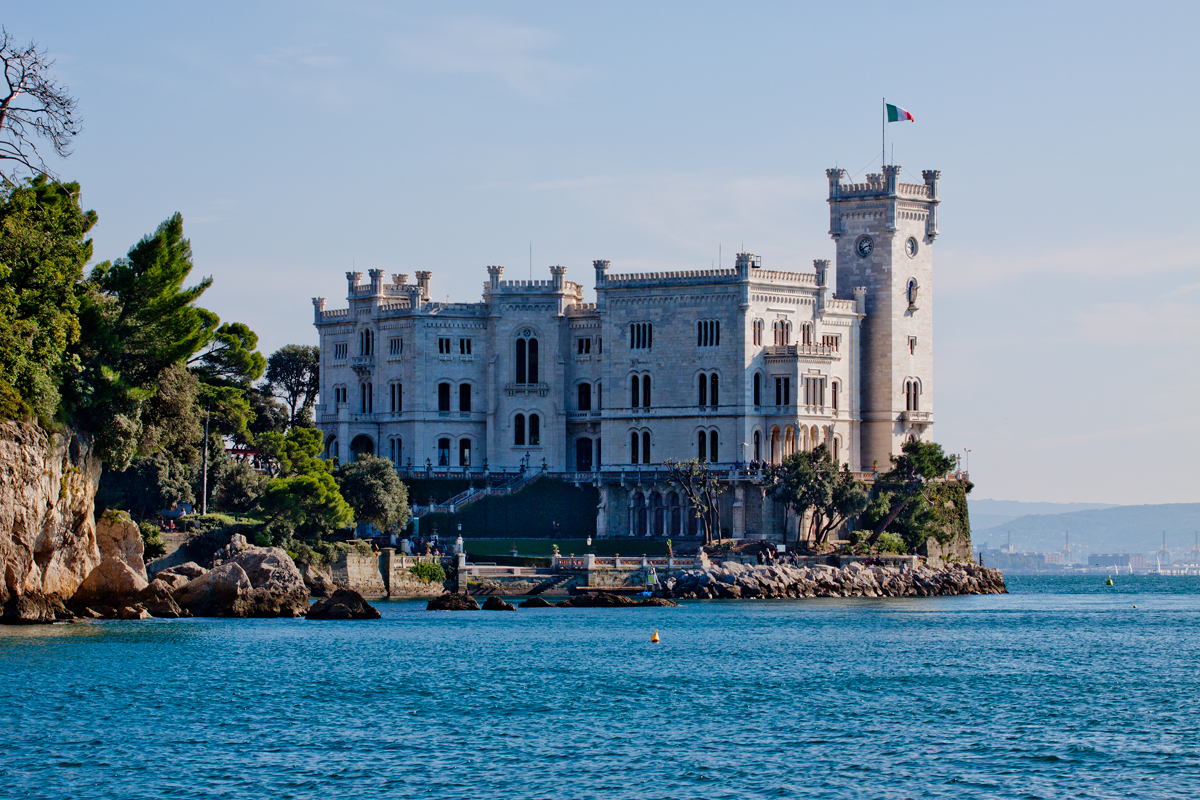 Image result for miramare castle