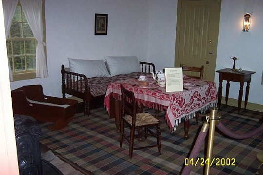 Inside the house - Molly Brown