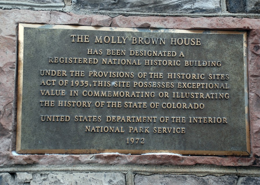 Registered National Historic Building - Molly Brown House