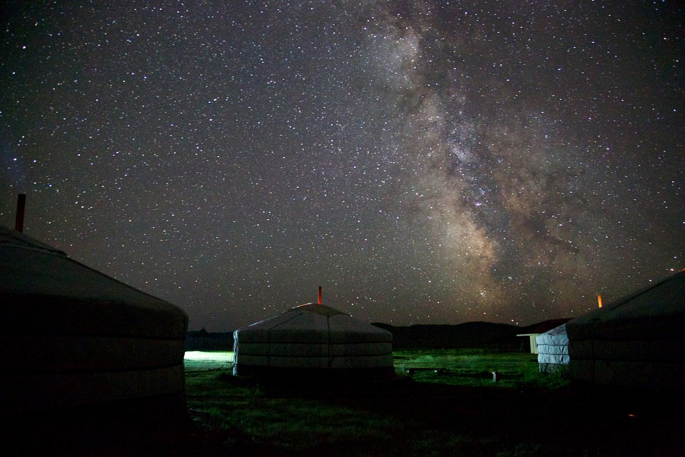 Milky Way seen from Mongolia, Summer 2013 - Mongolia