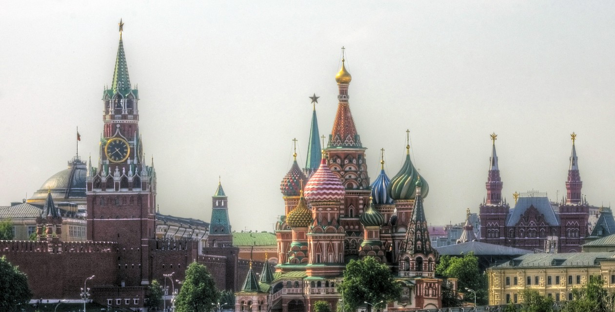 classic view of moscow - Moscow