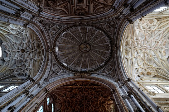 One of the Domes  at The Mosque–Cathedral of Córdoba. Spain - Mosque–Cathedral of Córdoba