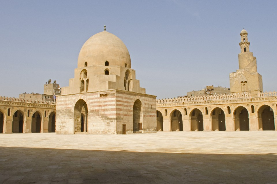 Courtyard in Mosque of Ibn Tulun - Mosque of Ibn Tulun