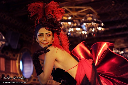 Moulin Rouge Girl -
