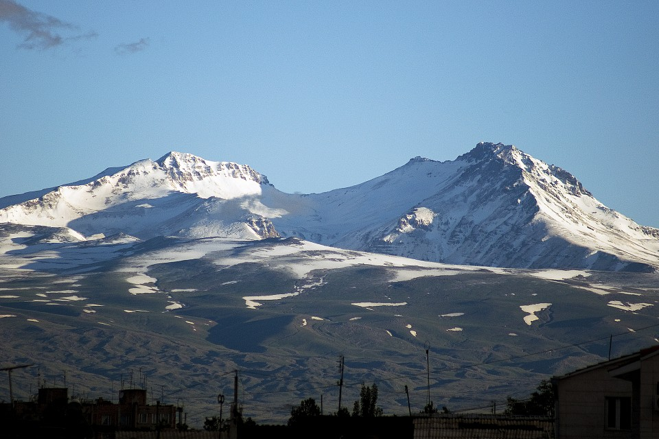 From my Balcony - Mount Aragats