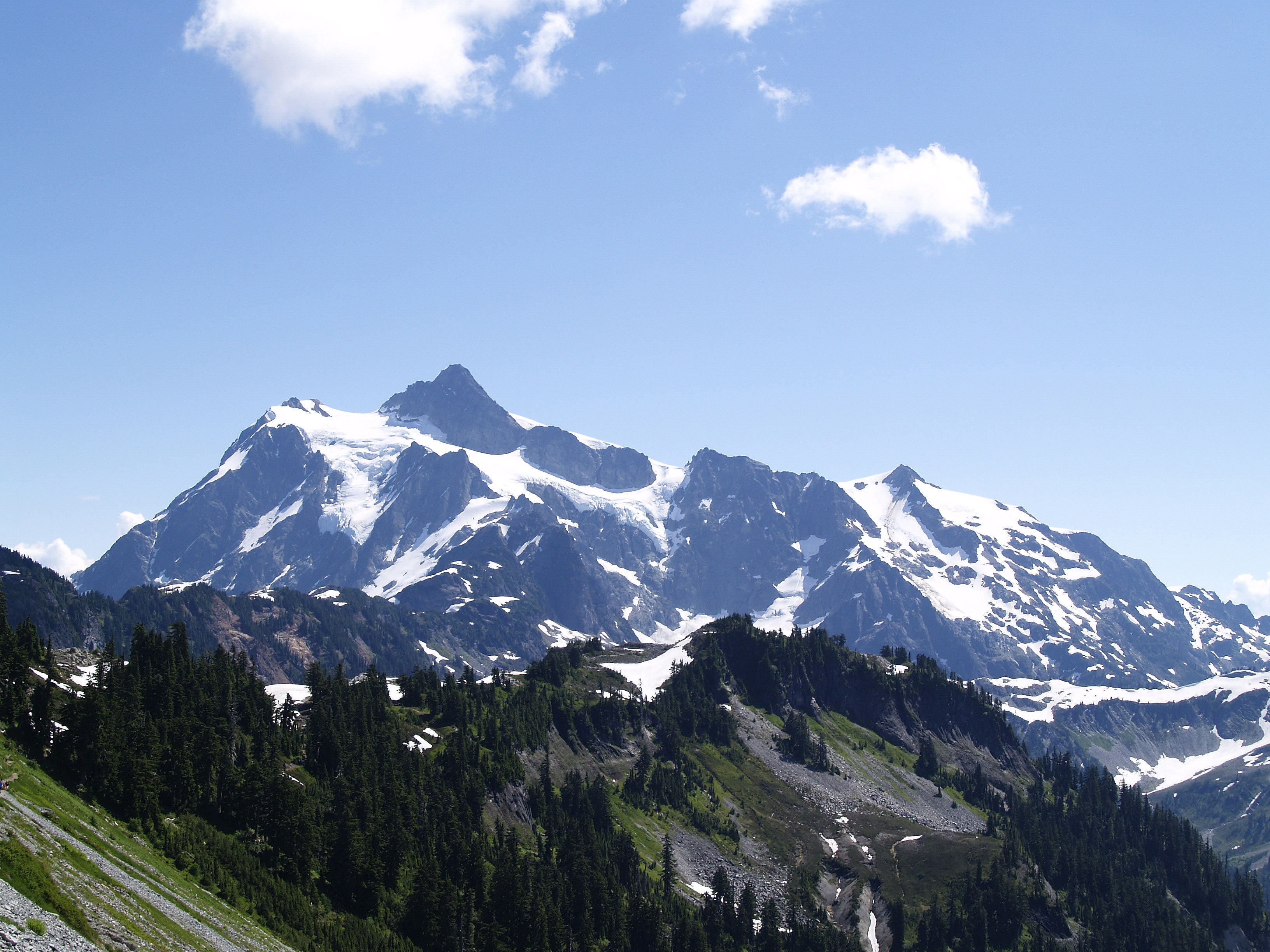 Mount Baker - Mountain in Washington - Thousand Wonders