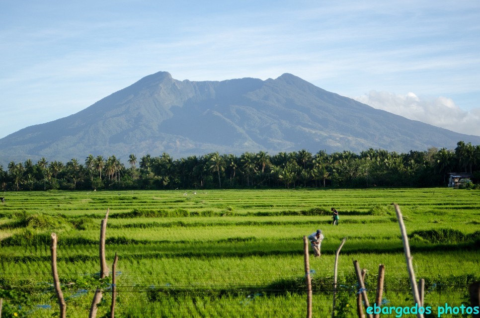 Mt. Banahaw as seen from Sariaya, Quezon, Philippines - Mount Banahaw