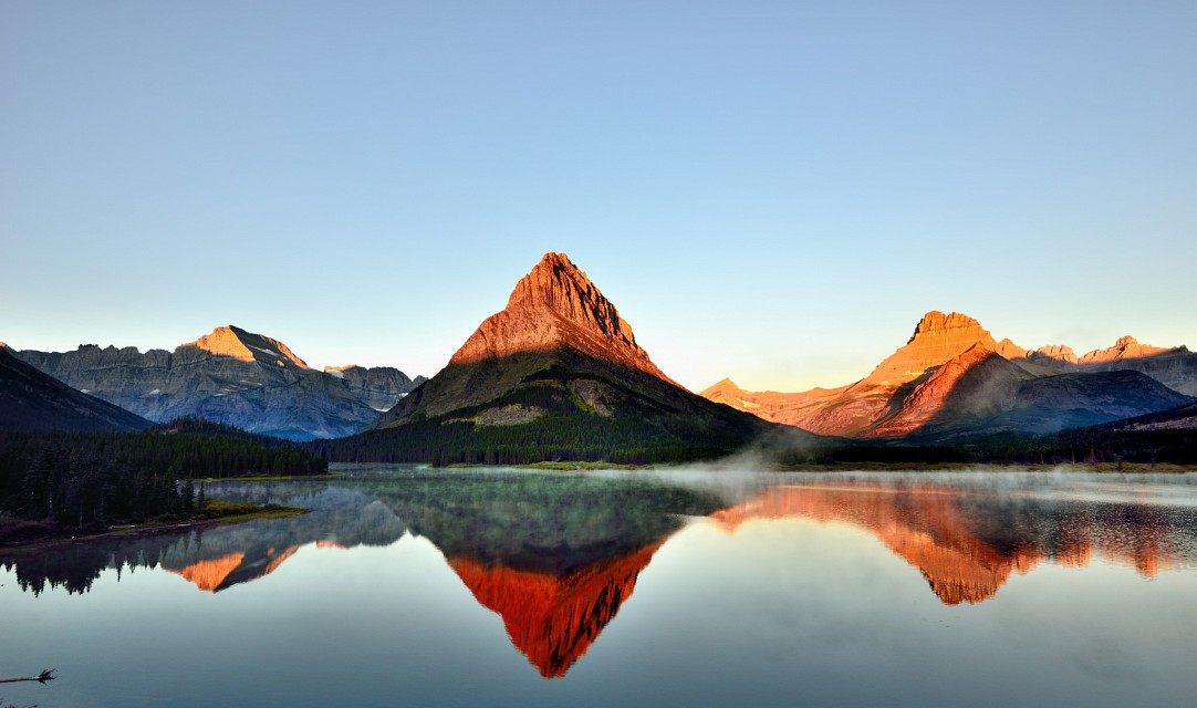 Grinnell Point (Day 5, Wide Angle) Glacier National Park - Mount Grinnell