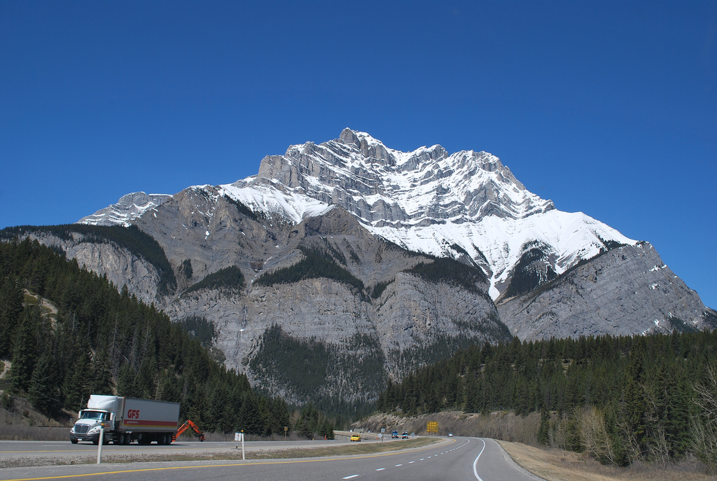 mount norquay - mountain in banff national park