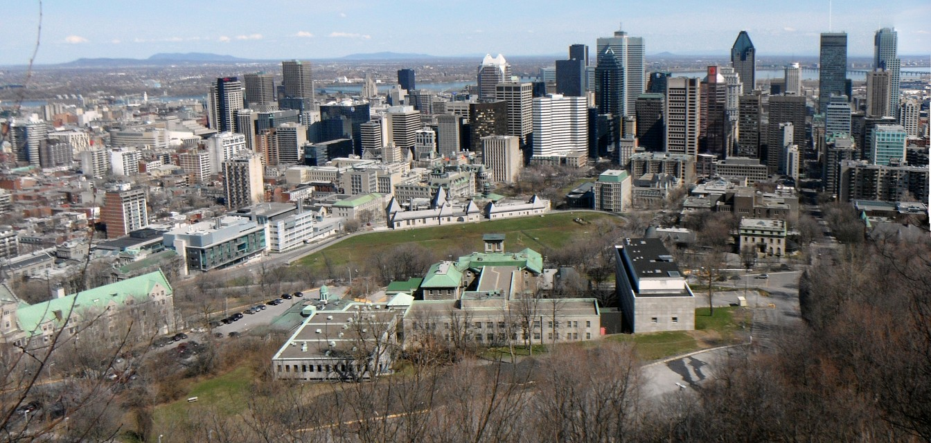 View from Mount Royal, Montreal - Mount Royal