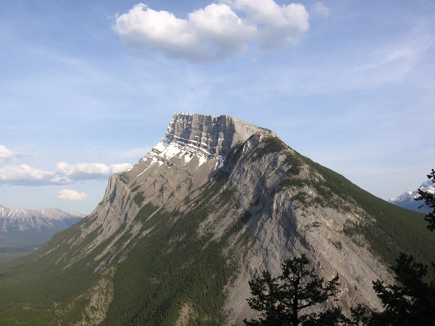 Mount Rundle - Mount Rundle